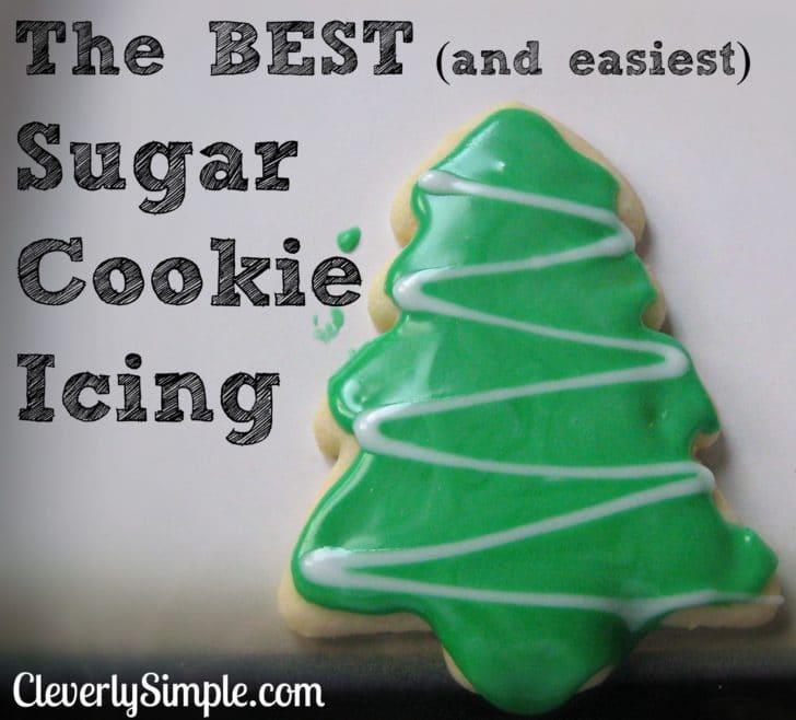 Sugar Cookie Icing Recipe — Dishmaps