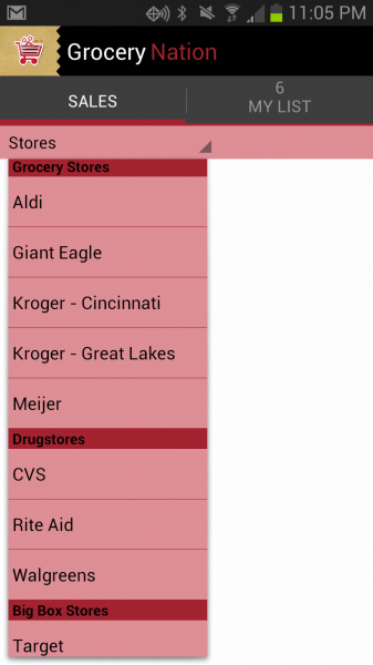 1 - browse stores