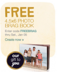 Free Photo Book from Walgreens