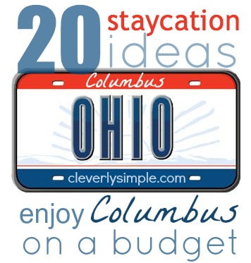 Columbus Staycation Ideas Budget