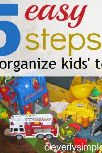 5 Easy Steps to Organize and Conquer Kids' Toys