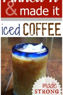Pinned & Tried It : Strong Iced Coffee w/ No Brewing Required