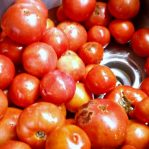 How to Can Tomatoes - Clean Tomatoes