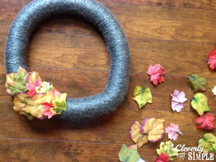 How to Not Make a Yarn Wreath 2