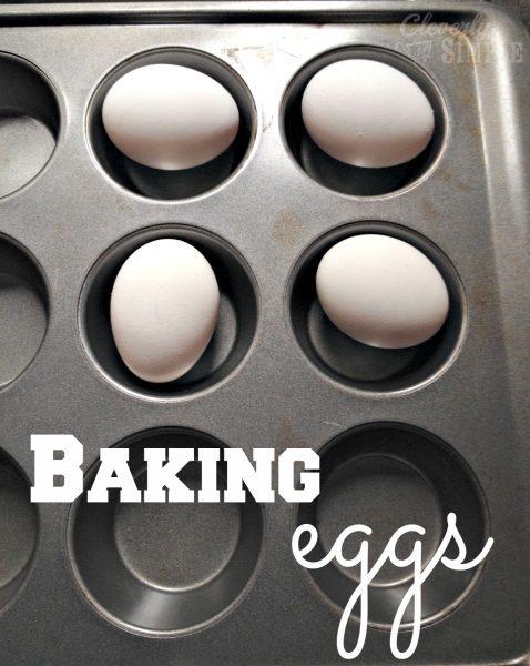 Baking Eggs