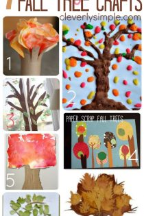 Easy Fall Tree Crafts for Kids