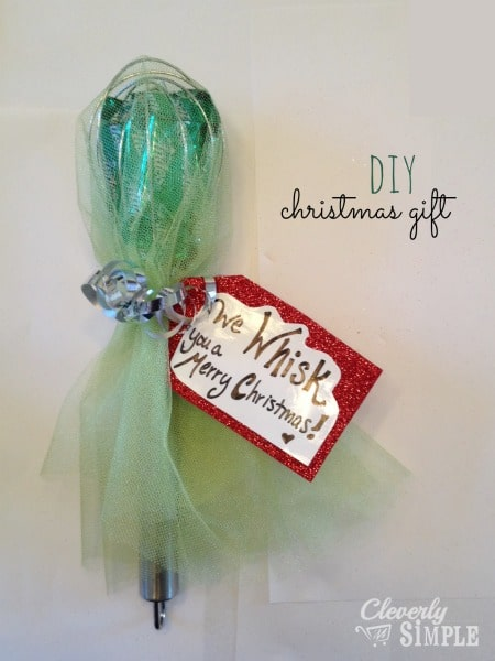 We Whisk You a Merry Christmas DIY Gift Idea