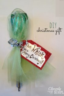 We WHISK You a Merry Christmas! : DIY Gift Idea