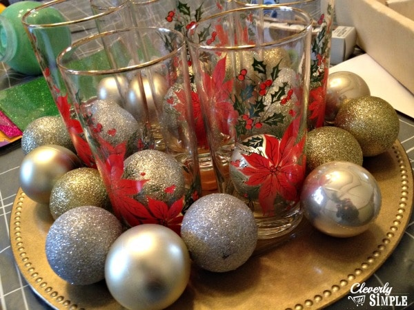 Steps to Christmas Centerpiece