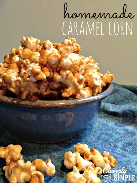 Homemade Best Caramel Corn Recipe