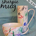 Kid Craft Sharpie Artwork on Mug