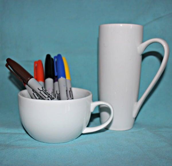 Sharpie Artwork on Mug