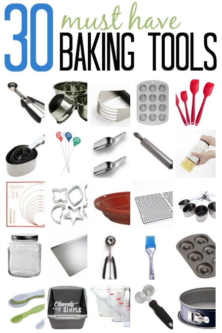 Baking tools names and pictures