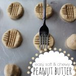 Soft Chewy Peanut Butter Cookies