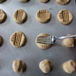 Soft Chewy Peanut Butter Cookies Criss Cross Fork