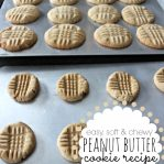 Soft Peanut Butter Cookie Recipe Chewy