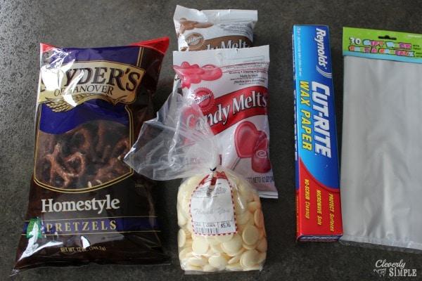 chocolate covered pretzel recipe ingredients