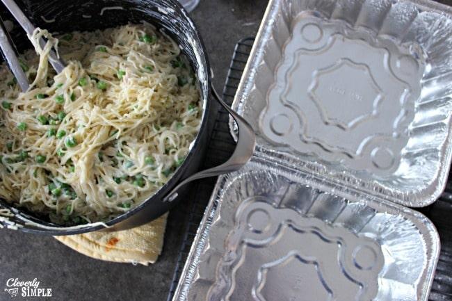 chicken tetrazzini recipe peas