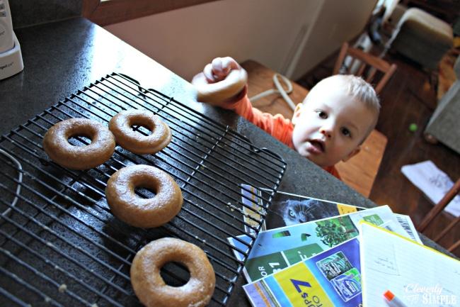 pumpkin donut snatcher