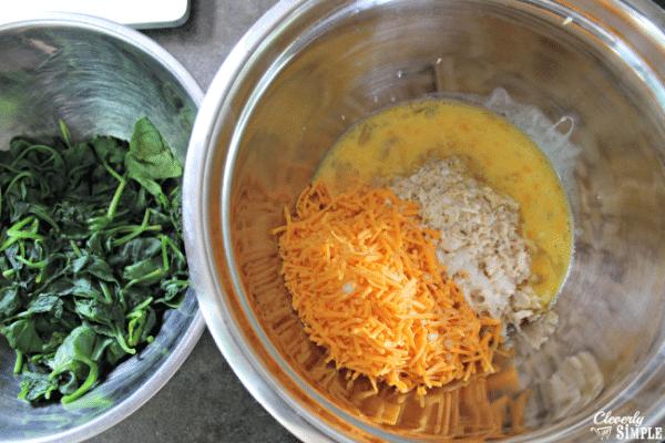 fresh spinach casserole recipe