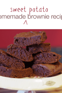 Homemade Brownies Recipe: Sweet Potato Brownies