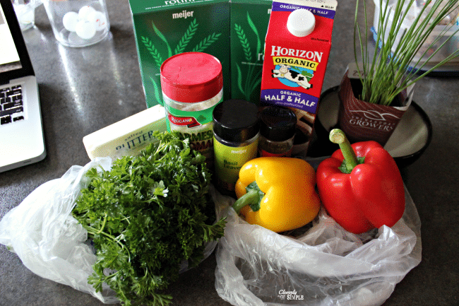 chicken rotini casserole ingredients