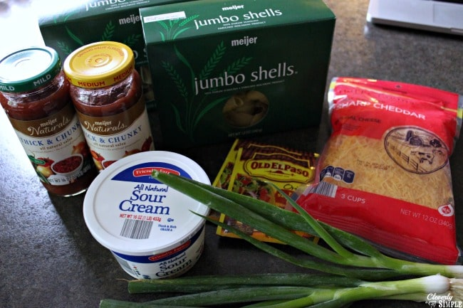 taco stuffed shells ingredients