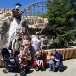 the whole family at cedar point