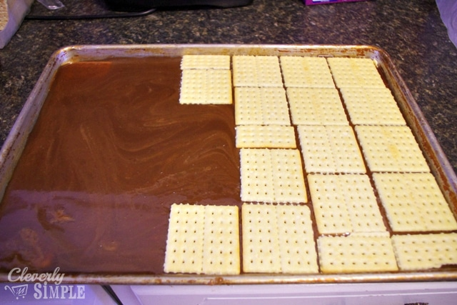 Another layer for homemade candy bars