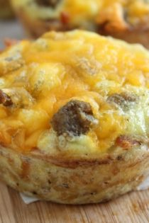 Sausage and Cheese Biscuits (Freezer Cooking!)