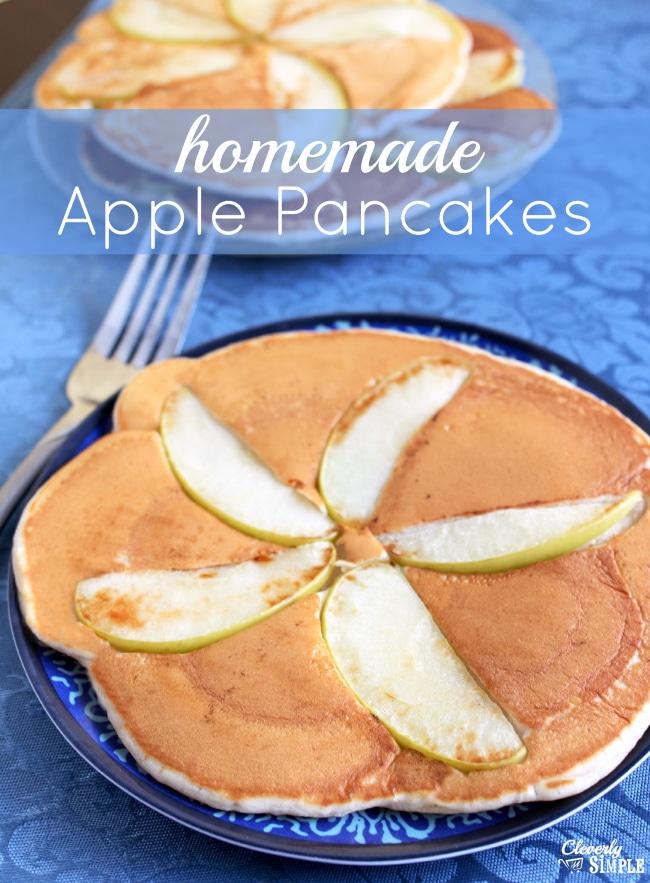 Homemade Apple Pancake Recipe