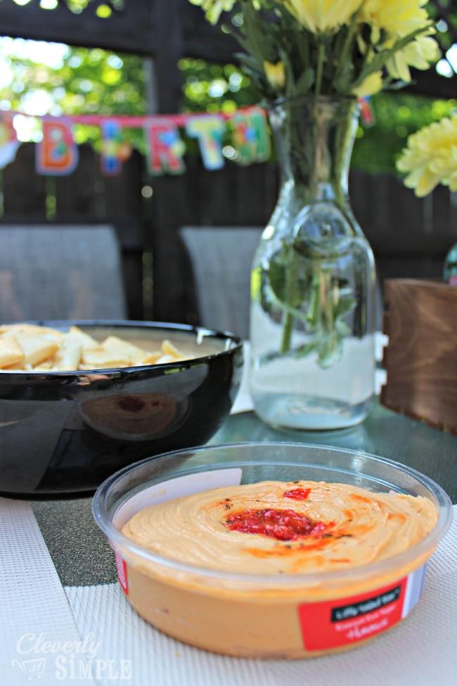 Little Salad Bar Hummus from Aldi