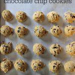 freezer cookies chocolate chip recipe