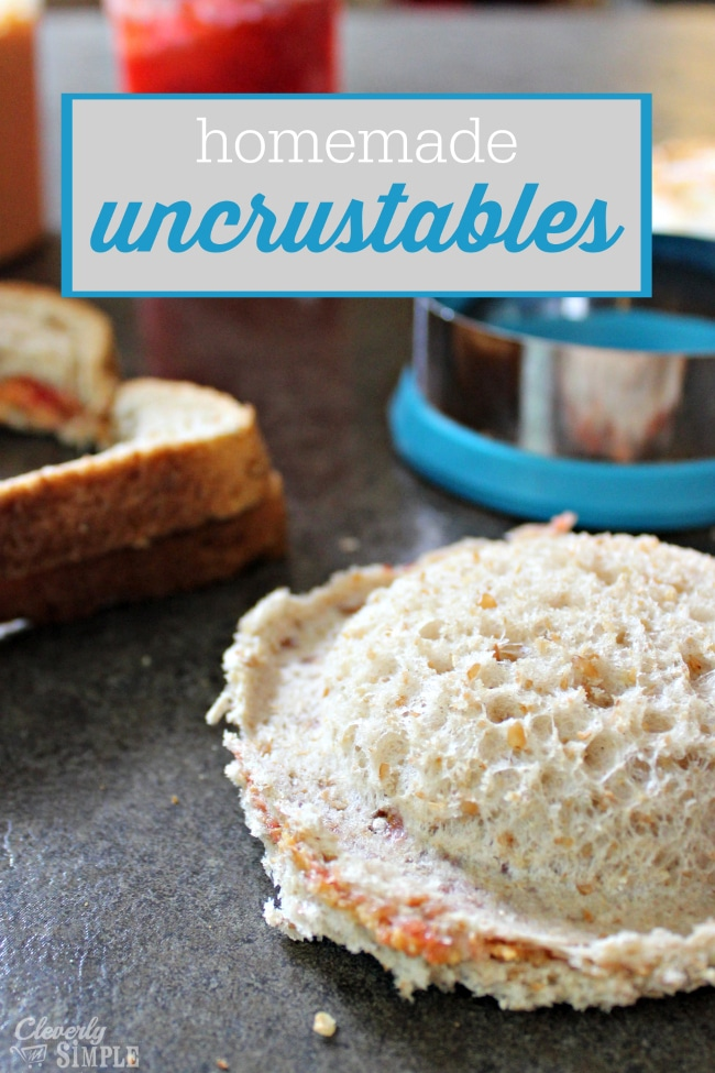 How to Make Homemade Uncrustables for lunch