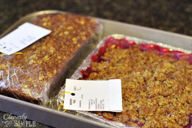Rhubarb Pie and Banana Nut Bread