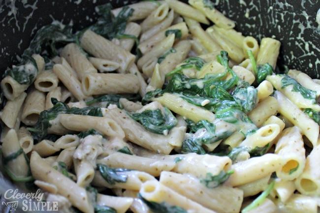 Spinach and Chicken Alfredo Recipe