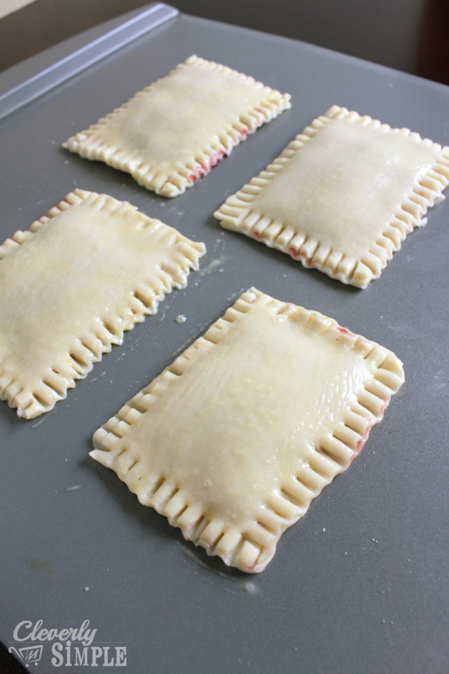 Homemade Pastries like pop tarts