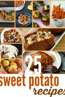 25 Sweet Potato Recipes You Will LOVE!