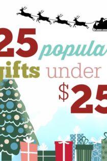25 Popular Gifts Under $25