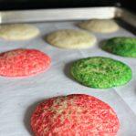 Baked easy sugar cookie