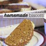 Maple Nut Homemade Biscotti Recipe