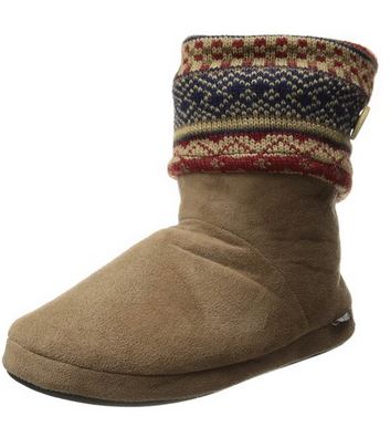 Muk Luks Women's Legwarmer Knit-Cuff Slipper Bootie