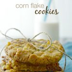 Corn flake Cookies Homemade Recipe