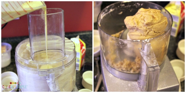 Using your food processor to make scones