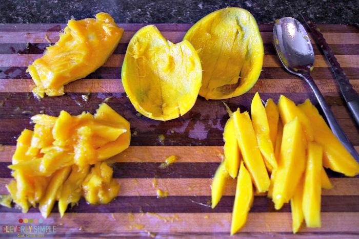 Mango in Stir Fry