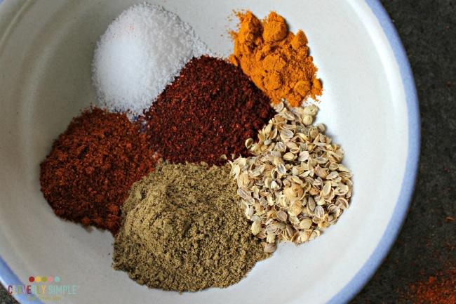 Seasonings for Chicken Korma