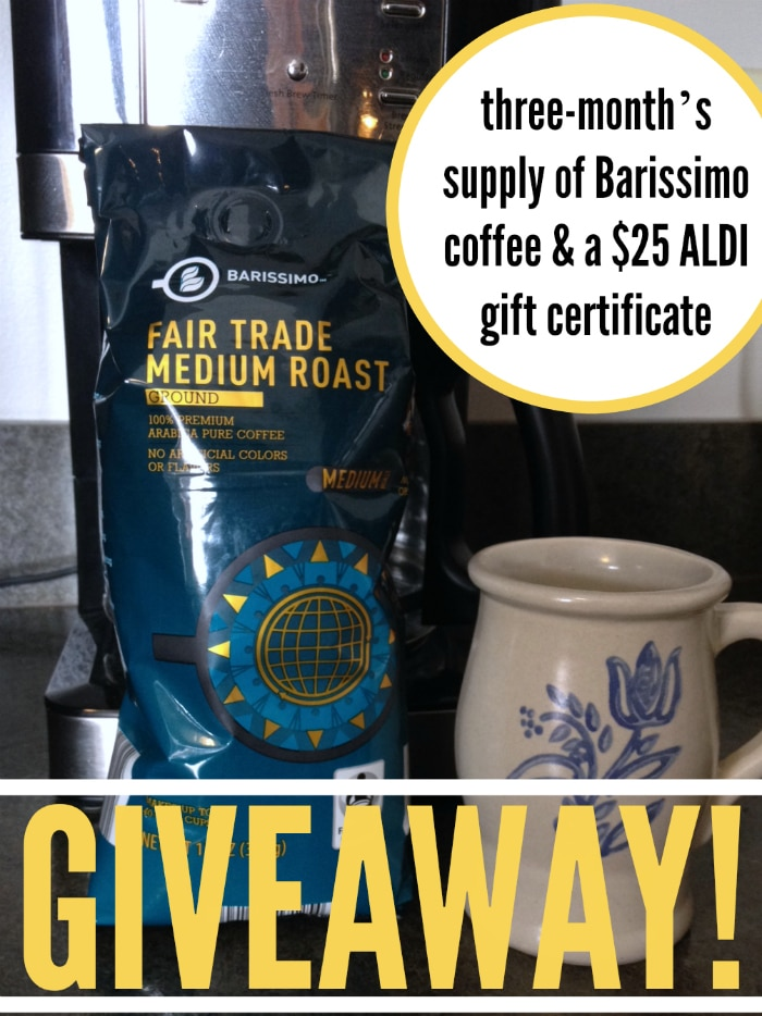 Barissimo Giveaway for Aldi