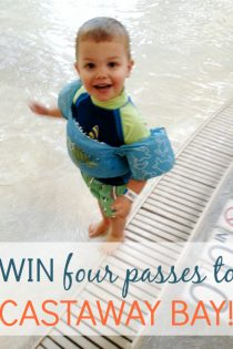 Giveaway: Win FOUR DAY PASSES To Castaway Bay Water Park (+ Coupon Code!)