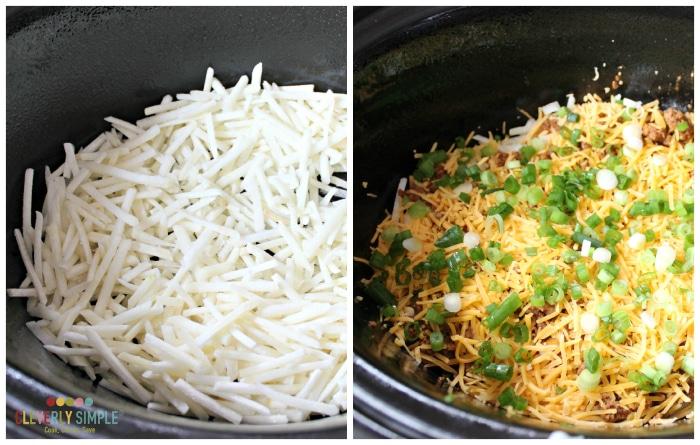 layers for breakfast casserole