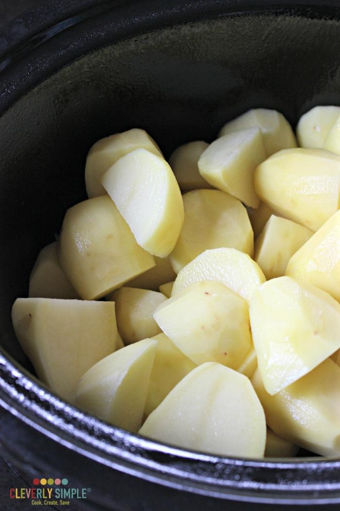 Easiest way to make mashed potatoes